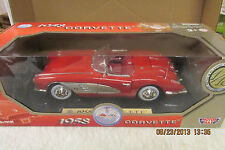 Motor Max Red 1958 Corvette  Diecast - 1:18  Limited Edition  #73109