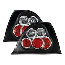 ROVER 200/25/MG ZR 1995-2005 BLACK LEXUS REAR TAIL LIGHTS LAMPS PAIR