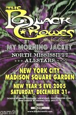 Black Crowes My Morning Jacket Gov't Mule  Concert Handbill Mini-Poster NYC