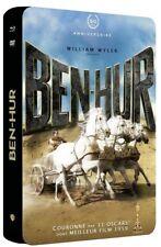BEN HUR ULTIMATE EDITION COFFRET METAL BLU RAY +  DVD NEUF SOUS CELLO