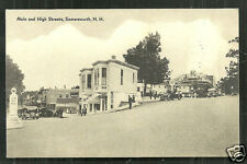 Somersworth Main High Street Coca Cola Texaco Tank Station NH 50s