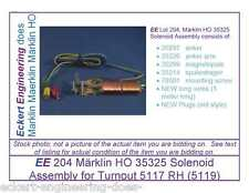 EE 204 Marklin HO 35325 Solenoid Assy for Turnout 5117 RH (5119) w Large Lantern