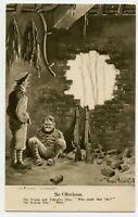 WWI British Military Humor  Bystander Comic Vintage Postcard by B. Bairnsfather