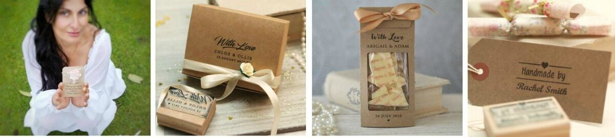 Rubber stamps, Chocolates & wedding