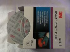 3M Hookit Trizact P3000 150mm 1 Pack of 15 Disks  NEW