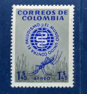 MALARIA ERADICATION >PALUDISMO> COLOMBIA-   1962