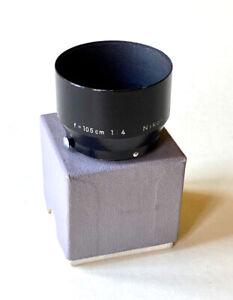 Nikon 105mm Nikkor f4 Hood Black for Nikon Rangefinder