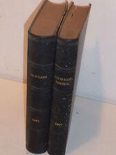 LOT 2 LIVRES ANCIENS 1901 L'ami du clergé & paroissial JOURNAL RELIGIEUX eglise
