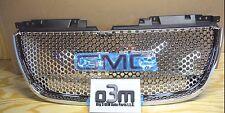 2007-2014 GMC Yukon Front Upper Chrome Grille w/ GMC Logo new OEM 22761715