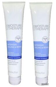 Avon Moisture Therapy Intensive Healing & Repair Hand Cream Pack of 2 tubes 4oz