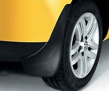 NEW GENUINE VW FOX REAR ACCESSORY MUDFLAPS SET