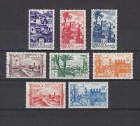 French Morocco #236-243 MNH CV$9.20 Fortress/Marrakesh/Gardens/Ourzazat
