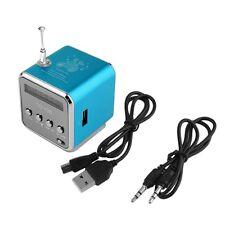 Portable Micro USB Mini Stereo Super Bass Speaker Music MP3/4 FM Radio BE