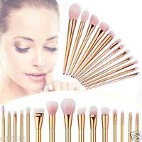 Pro 15pcs Makeup Brushes Set Powder Foundation Eyeshadow Eyeliner Lip Brush Tool