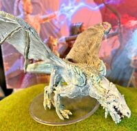 Young Adult White Dragon D&D Miniature Dungeons Dragons Icewind Dale Rime huge A