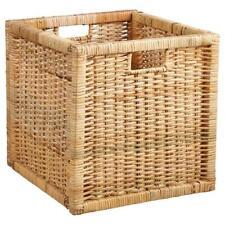 IKEA Fach Box für Expedit Kallax Kiste Aufbewahrungsbox Rattan Korb