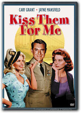 Kiss Them For Me DVD New Cary Grant Jayne Mansfield