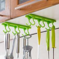 Mug Holder Cup Hanger Under Shelf Cabinet Coffee Kitchen Storage Rack HS3