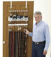 Longstem Men's Over the Door/Wall Organizer Valet #9300Tie Belt Rack Rated Best