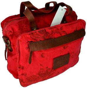 Handbag Shoulder Bag Woman Red Napapijri Risk Blossom Duffle R