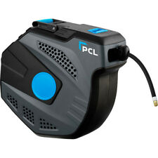 """PCL Wall Mounted Slow Retract Air Line Hose Reel 10mm (3/8"""") Length 20m AL118"""