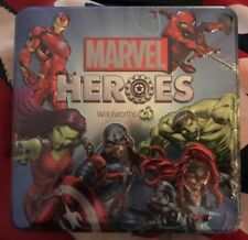 💕Marvel Heroes Discs Tin Woolworths Brand New & Sealed💕