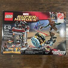 Lego Marvel Superheroes Knowhere Escape Mission Sealed Set 76020 Guardians NEW