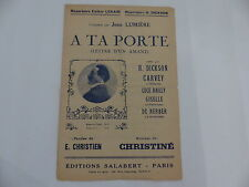 Partition A ta pote JEAN LUMIERE CARVEY LUCE BAILLY GISELLE DE NERBER