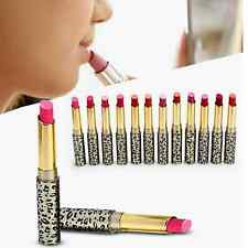 Lot 12PCS Leopard Lady Waterproof Moisture Shimmer Matte Lipstick Set Super Hot