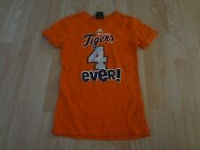 Youth Girls Detroit Tigers M (10/12) T-Shirt Tee Adidas (Orange)