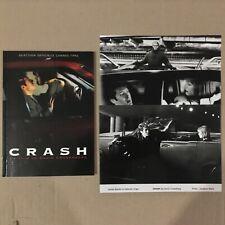 Dossier de Presse French Press Book CRASH David Cronenberg + 3 Photos B&W