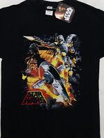 Star Wars Boba Fett Bounty Hunter Darth Vader Force Hunter Black T-Shirt