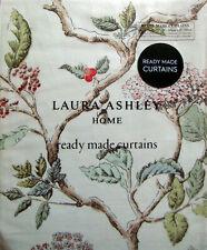 "LAURA ASHLEY - ELDERWOOD NATURAL pencil pleat curtains W64"" x L72"" RRP £140"