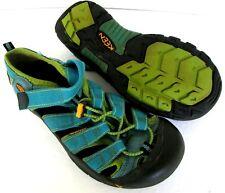 KEEN Newport H2 Womens size US 6 Hawaiian Blue/Green Glow Water Shoes Sandals