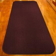8 FT X 27 in Skid-resistant Carpet Runner Burgundy Red Hall Area Rug Floor Mat