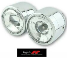DUCATI MONSTER 916 996 1000 LED TWIN CHROME HEADLIGHT HEAD LIGHT