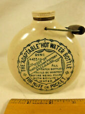 1904 COLLECTIBLE VINTAGE HOT WATER MOTTLE FOR MUFF WARMER