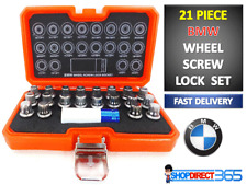 21pc BMW Locking Wheel Nut Screw Lock Socket Key Master Tamper Proof Set CT4226