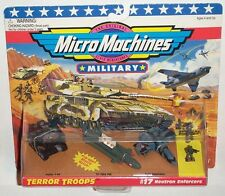 Military Micro Machines 1996 #17 NEUTRON ENFORCERS Zephyr T-30, Tri Tube Sub MOC