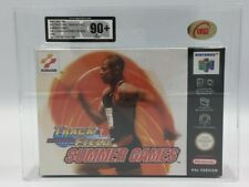 International Track & Field N64 PAL VERSION NEW FACTORY SEALED UKG 90+ MT D'OR!!!