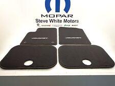 11-16 Dodge Journey New Floor Mats Black Set of 4 Front & Rear Mopar Factory Oem