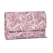 NWT Sonia Kashuk PINK MARBLE HANGING ORGANIZER VALET Cosmetic Case Travel Bag