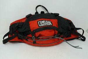 CamelBak Bandido Fanny Pack Adjustable Hiking Bag Red & Black