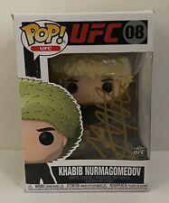 Khabib Nurmagomedov Signed FUNKO POP! Vinyl Doll Autographed Beckett BAS COA UFC