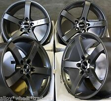 "ALLOY WHEELS X 4 18"" GM BLADE FOR NISSAN JUKE ALMERA ELGRAND PRIMERA QASHQAI"