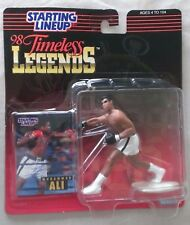 """STARTING LINEUP 1998 TIMELESS LEGENDS MUHAMMAD ALI ACTION FIGURE-""""SIGNED""""-NEW!!!"""