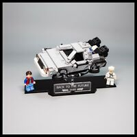 Delorean acrylic display stand for LEGO model 21103