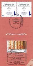 BRD 2009: Friedrich Schiller! Waagerechtes Paar der Nr. 2765 + Nr. 2461! 1A 1707