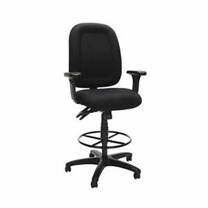 OFM Core Collection Ergonomic Task Chair with Arms and Drafting Kit Mid Back ...
