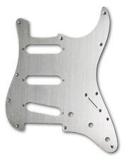 Fine-Brushed Steel Strat Stratocaster Pickguard